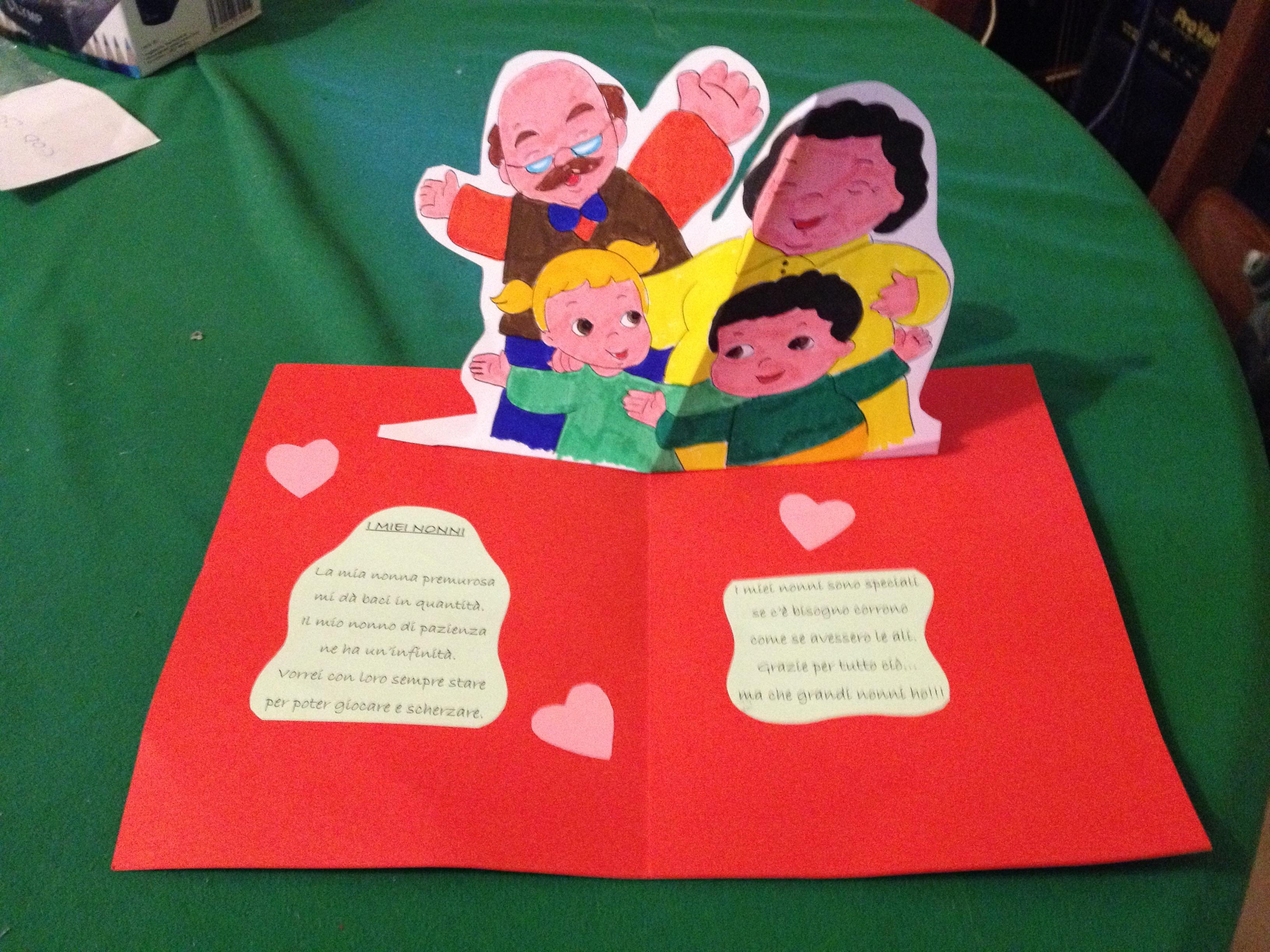 Favoloso Poesia festa dei nonni 2015 | Scuola dell'Infanzia San Giuseppe  HL23