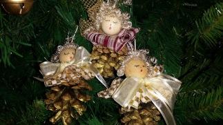 decorazioni albero pigne 2
