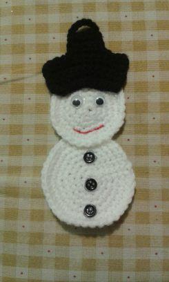 Decorazione pupazzo di neve