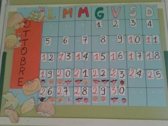 calendario ottobre