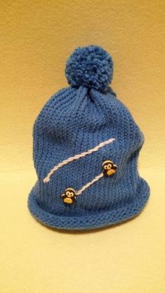 cappello pinguini