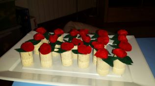 Segnaposto roselline