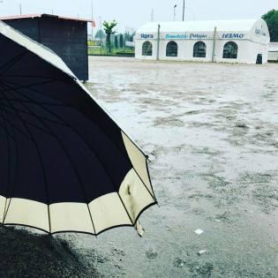 L'immancabile pioggia! XD